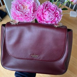 Kate spade New York marcelle leather saddle bag